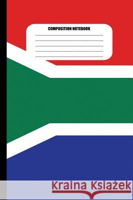 Composition Notebook: Flag of South Africa (100 Pages, College Ruled) Sutherland Creek 9781718122376