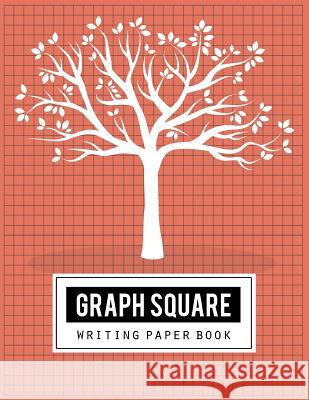 Graph Square Writing Paper: Handwriting Journal, Blank Book, Sketching, Drawing/Writing, Art Design, 1x1 Grid, Size 8.5