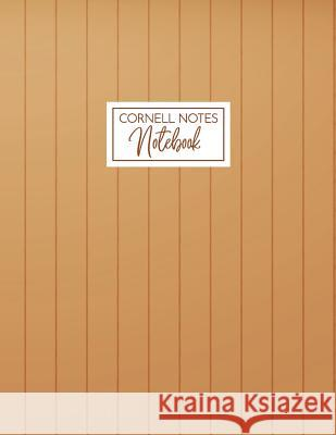 Cornell Notes Notebook: A Proven Focused Note-Taking System for College, Middle School and Elementary Students - Wood Edition Harley Lane Sommer 9781719972772