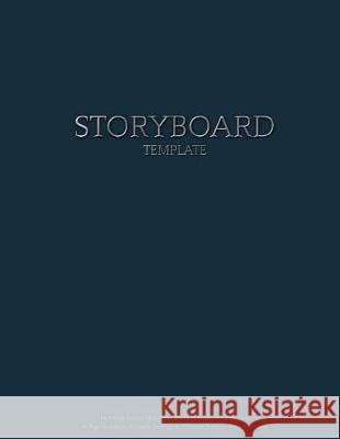 Storyboard Template: 16:9 Wide Layout Sketchbook for Film & Animation Projects 50 Page Notebook: 6 Panels Per Page to Visualize Scenes 8.5 Merch Edge 9781720950059