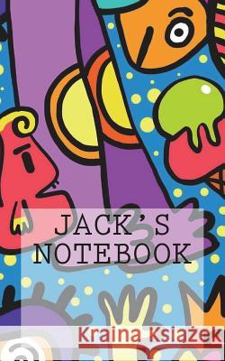 Jack's Notebook: Notebook Small Size 5 X 8 Ruled 150 Pages 12.7cm X 20.32cm Wild Pages Press 9781722609061