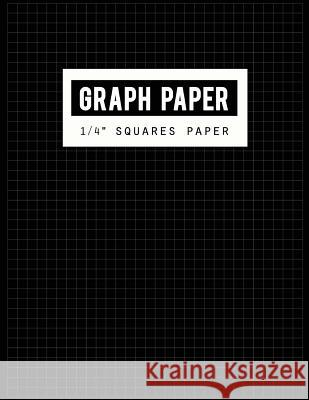 Graph Paper 1/4 Squares Paper: Black Lines Law Ruled Letter, Writing Paper Notebook, Letter-Sized Lined Paper Is College Ruled and Oriented, Black Li Narika Publishing 9781722799922