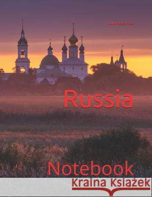 Russia: Notebook Wild Pages Press 9781723825033
