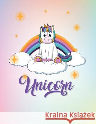 Unicorn: Cute Unicorn Cover and Dot Graph Line Sketch Pages, Extra Large (8.5 X 11) Inches, 110 Pages, White Paper, Sketch, Dra Dim Ple 9781724702548