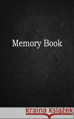 Memory Book: 1/4 Inch Graph Ruled, Memo Book, 5x8, 104 Pages Sematol Books 9781724929365