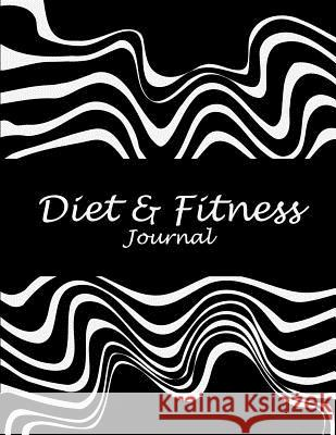 Diet & Fitness Journal: Black Beauty, 2019 Weekly Meal and Workout Planner and Grocery List 8.5