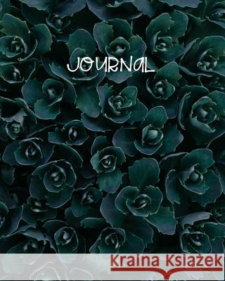 Journal: Blank Lined Notebook 8x10 Succulent Cactus Garden Blooms Harvest Journals 9781726629515
