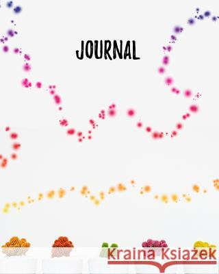Journal: Blank Lined Notebook 8x10 Rainbow Cactus Succulent Harvest Journals 9781726631112