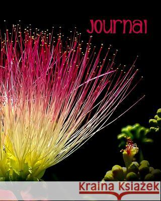 Journal: Blank Lined Notebook 8x10 Pink Exotic Flower Bloom Blossom Harvest Journals 9781726664233