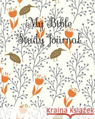 My Bible Study Journal: Bible Study Journaling Book for Church to Write in Christmas Gift Present Cute Bible Stud 9781731397041