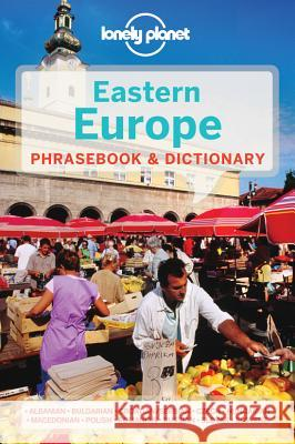 Lonely Planet Eastern Europe Phrasebook & Dictionary   9781741790054
