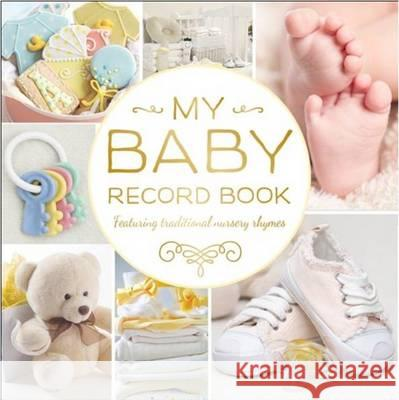 My Baby Record Book (Yellow) Hinkler 9781743678701