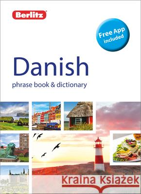 Berlitz Phrase Book & Dictionary Danish Berlitz Publishing 9781780044958