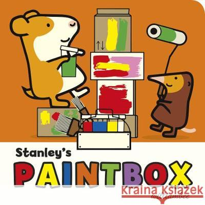 Stanley's Paintbox William Bee 9781780080543 Random House Children's Publishers UK