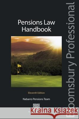 Pensions Law Handbook: Eleventh Edition   9781780430133