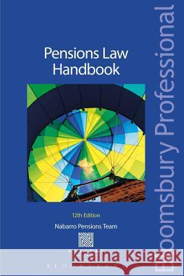 Pensions Law Handbook: 12th Edition  9781780434490