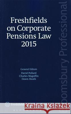 Freshfields on Corporate Pensions Law 2015  9781780435558