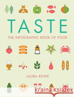 Taste: The Infographic Book of Food Laura Rowe Vicki Turner 9781781316467