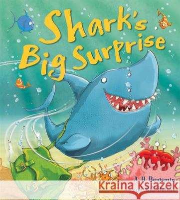 Shark's Big Surprise A H Benjamin 9781781710845 QED PUBLISHING