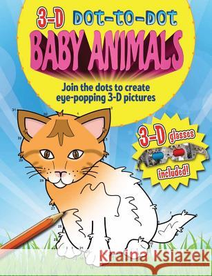 3D Dot to Dot Baby Animals   9781782122074