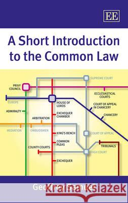 A Short Introduction to the Common Law Geoffrey Samuel   9781782546375