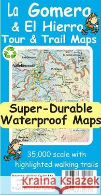 La Gomera & El Hierro Tour & Trail Super-Durable Maps Jan Kostura 9781782750611 Discovery Walking Guides Ltd