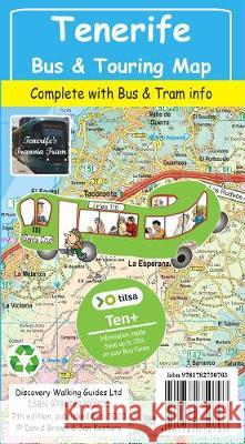 Tenerife Bus & Touring Map Jan Kostura 9781782750703 Discovery Walking Guides Ltd