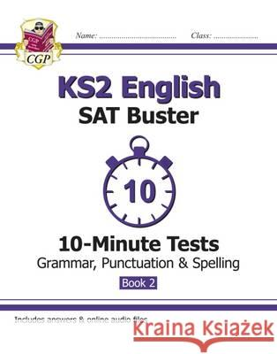 New KS2 English SAT Buster 10-Minute Tests   9781782944782