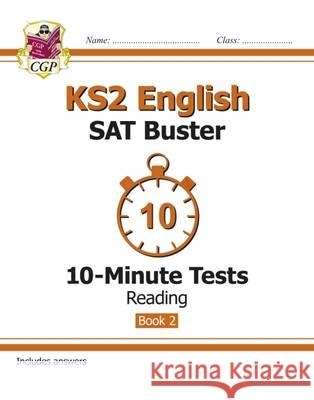 New KS2 English SAT Buster 10-Minute Tests   9781782944799