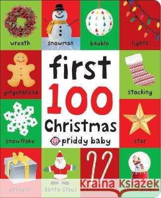 First 100 Christmas Roger Priddy   9781783417674