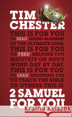 2 Samuel for You Tim Chester 9781784982003