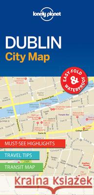 Lonely Planet Dublin City Map Lonely Planet 9781786575081
