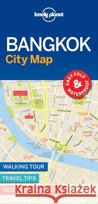 Lonely Planet Bangkok City Map Lonely Planet 9781786579133