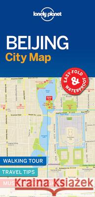 Lonely Planet Beijing City Map Lonely Planet 9781786579157