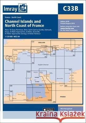 C33B CHANNEL ISLANDS AND NORTH COAST FRA   9781786790484