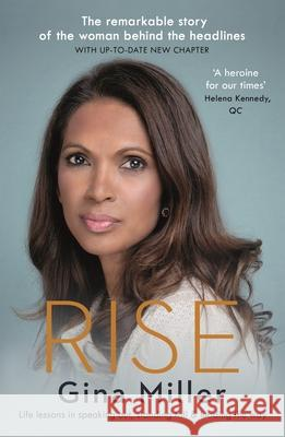 Rise: Life Lessons in Speaking Out, Standing Tall & Leading the Way Gina Miller   9781786892911