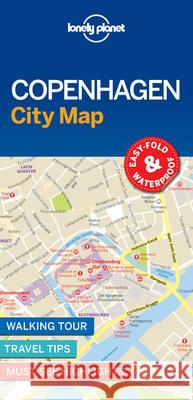 Lonely Planet Copenhagen City Map Lonely Planet 9781787014473