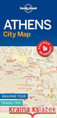 Lonely Planet Athens City Map Lonely Planet 9781787014503