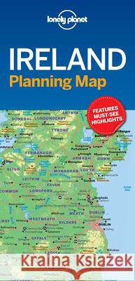 Lonely Planet Ireland Planning Map Lonely Planet 9781787014541