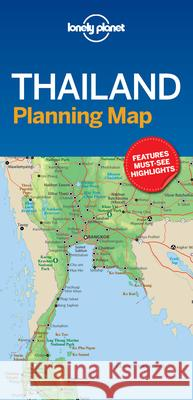 Lonely Planet Thailand Planning Map Lonely Planet 9781787014558