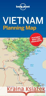 Lonely Planet Vietnam Planning Map Lonely Planet 9781787014565