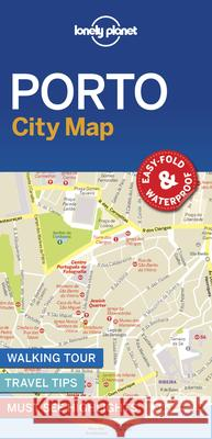 Lonely Planet Porto City Map Lonely Planet 9781787014602