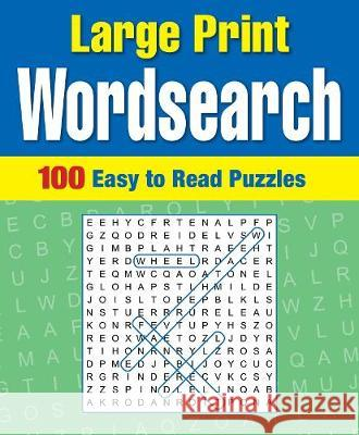 Large Print Wordsearch  Arcturus Publishing 9781788885430