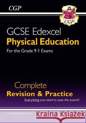 New Grade 9-1 GCSE Physical Education Edexcel Complete Revision & Practice (with Online Edition) CGP Books CGP Books  9781789080070
