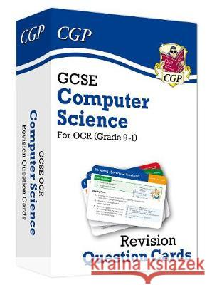 New Grade 9-1 GCSE Computer Science OCR Revision Question Cards CGP Books CGP Books  9781789084016