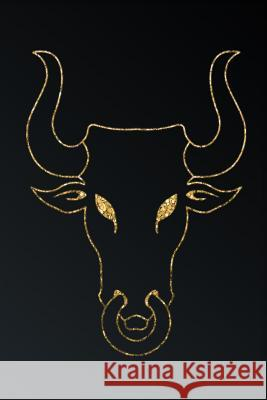 Gold Bull Head Silhouette: Gray Softcover Note Book Diary Lined Writing Journal Notebook Pocket Sized 100 Pages I. Found That Book                       C. a. Vision Books 9781792987427