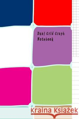 Dual Grid Graph Notebook: Book Half Lined and Half Graph 5x5 on Same Page, Coordinate, Grid, Squared, Math Paper, Diary Journal Organizer to Get Craig O 9781797098999