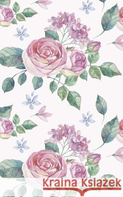 Pink Roses White Background 5 X 8