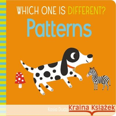 Which One Is Different? Patterns Kasia Dudziuk 9781839404948