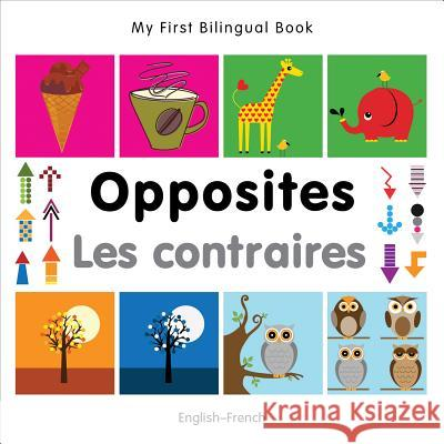 My First Bilingual Book -  Opposites (English-French)   9781840597363